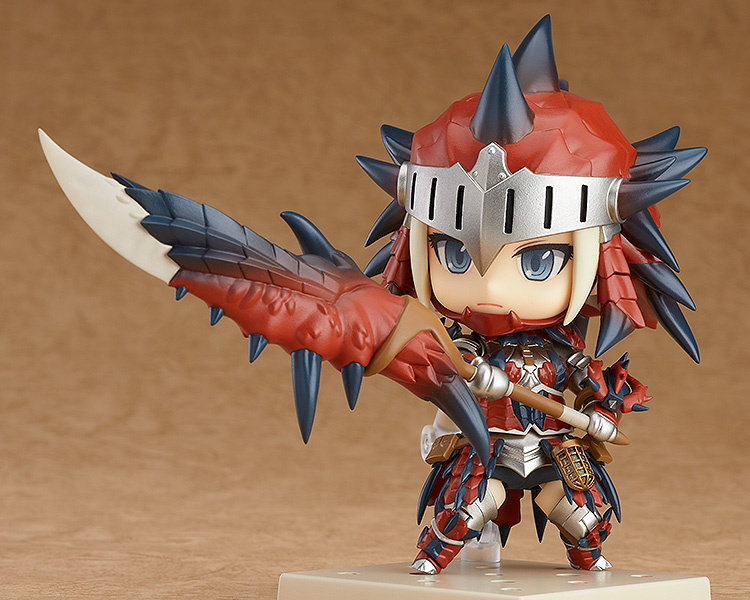 Monster Hunter World - Female Hunter Rathalos Armor Edition Nendoroid