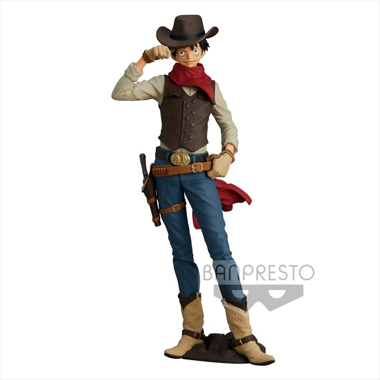 One Piece - Monkey D Luffy Treasure Cruise Ver. Banpresto Prize Figure