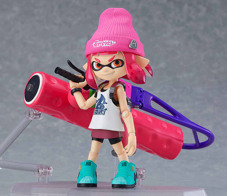 Splatoon - Inkling Girl DX Edition figma