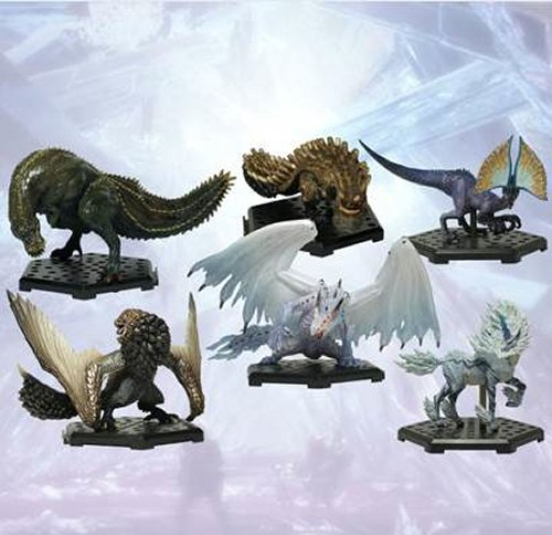 Monster Hunter - Capcom Figure Builder Monster Hunter Standard Model Plus Vol.12 Single BLIND BOX