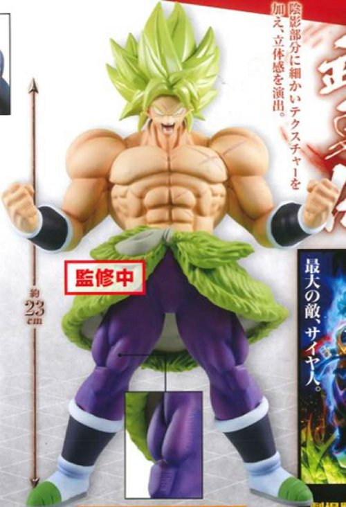 Dragon Ball Super: Broly Movie - Broly Super Saiyan Ver. Banpresto Prize