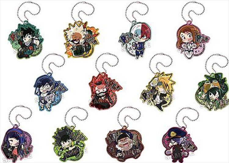 My Hero Academia - Pita Deforme Acrylic Keychain SINGLE BLIND BOX