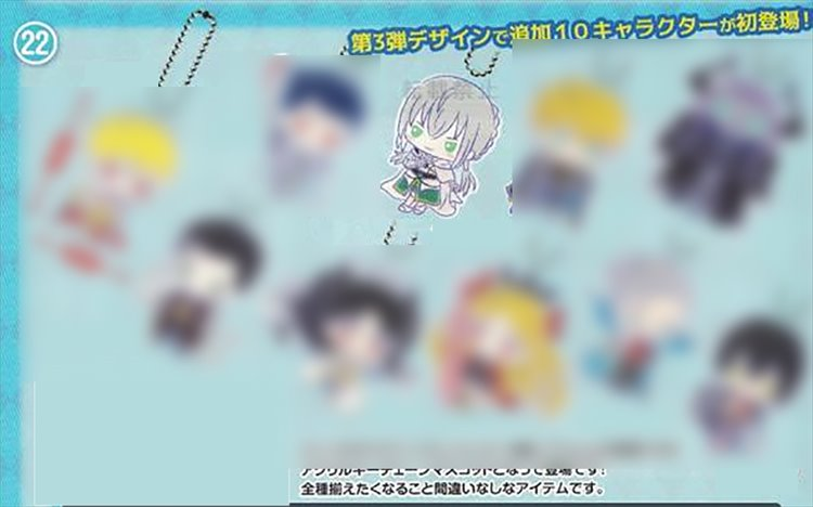 Fate Grand Order - Saber Bedivere Sanrio Acrylic Keychain