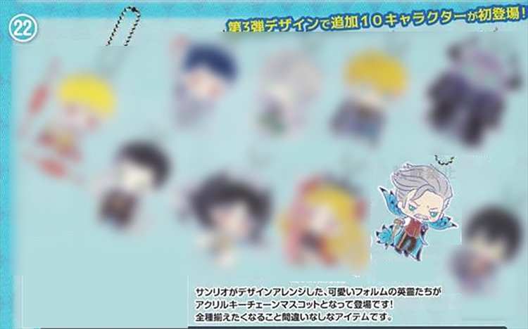 Fate Grand Order - Archer Archer of Shinjuku Sanrio Acrylic Keychain