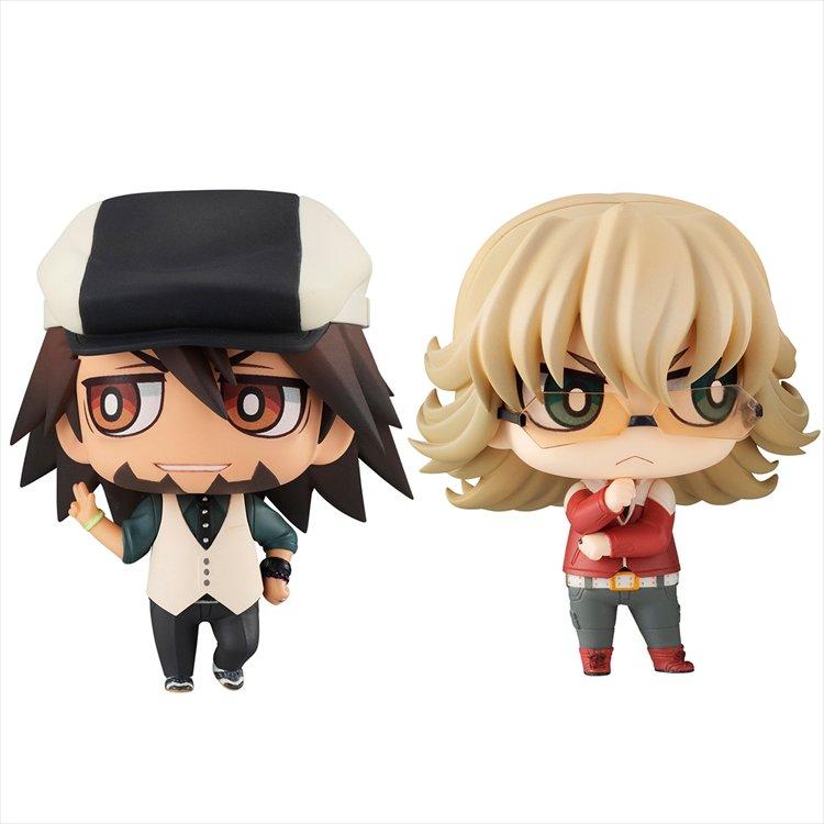 Tiger and Bunny - Chimimega Buddy Series Kotetsu and Barnaby Set
