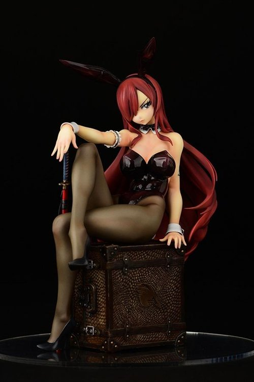 Fairy Tail - 1/6 Erza Scarlet Bunny Girl Style ver. PVC Figure