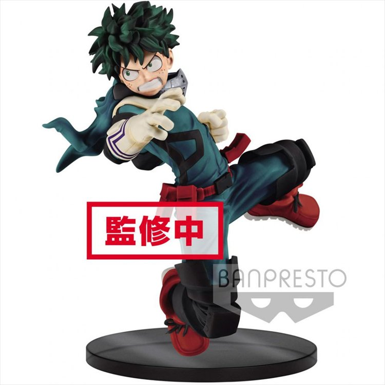 My Hero Academia - Izuku Midoriya The Amazing Heroes Ver. Banpresto Prize Figure