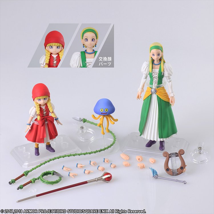 Dragon Quest XI: Echoes of an Elusive Age - Veronica and Serena Bring Arts Figure