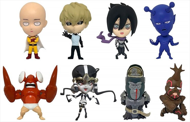 One Punch Man - Collectible Figure Collection Vol. 1 Single BLIND BOX