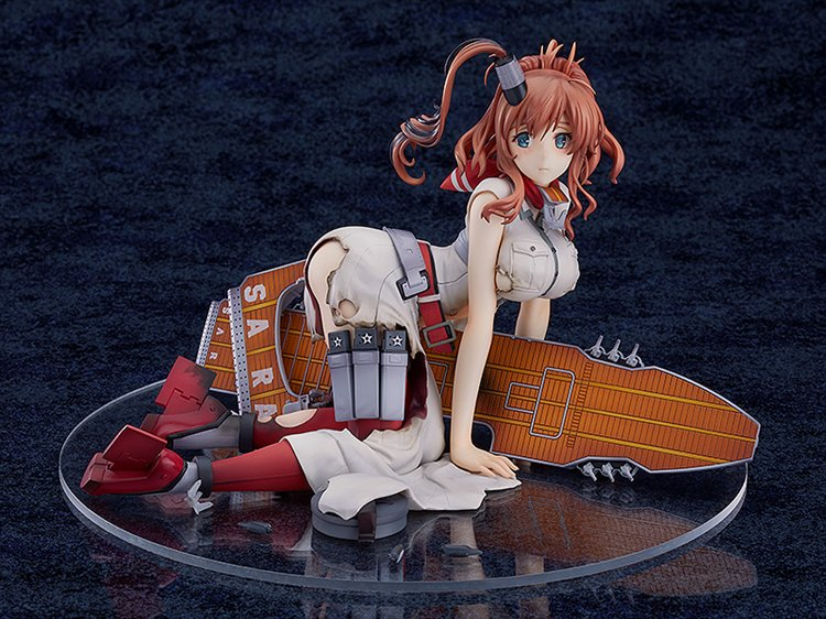 Kantai Collection - 1/8 Saratoga PVC Figure