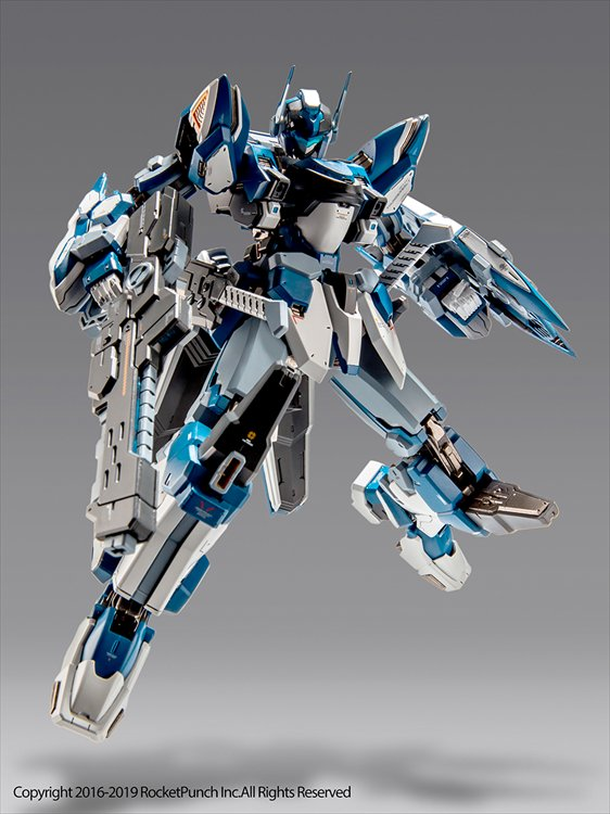 Hardcore Mecha - Non Scale Thunderbolt Alloy Action PVC Figure