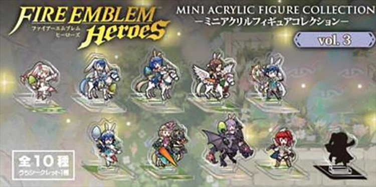 Fire Emblem Heroes - Mini Acrylic Figure collection Vol.3 Single BLIND BOX