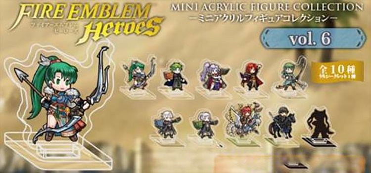 Fire Emblem Heroes - Mini Acrylic Figure collection Vol.6 Single BLIND BOX