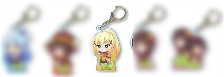 Konosuba 2 - Darkness with Cabbage Acrylic Keychain