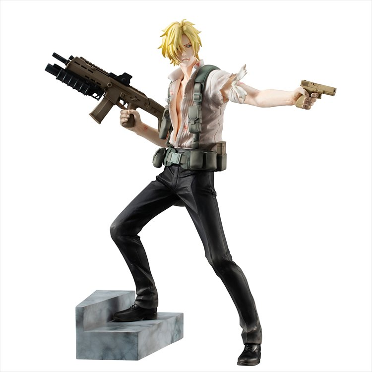 Banana Fish - Ash Lynx GEM Figure
