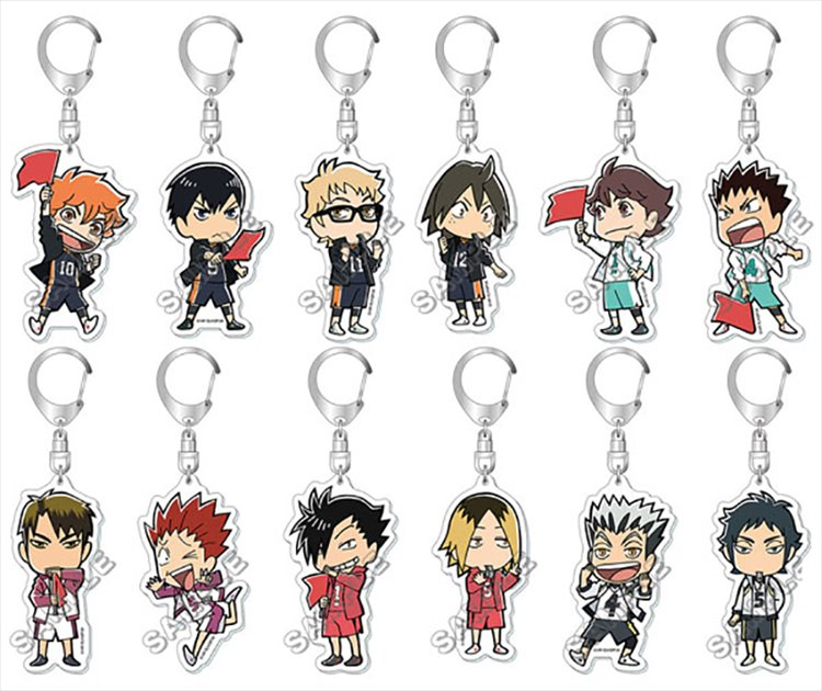 Haikyuu - Acrylic Keychain SINGLE BLIND BOX