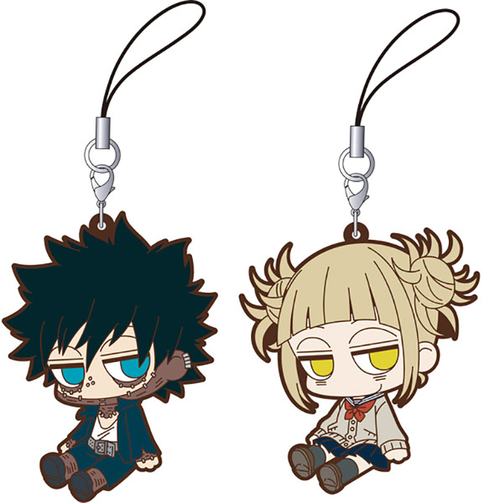 My Hero Academia - Dabi and Himiko Rubber Strap