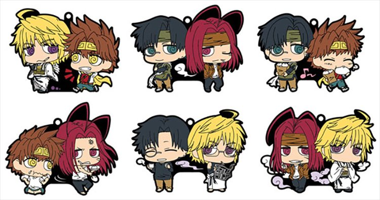Saiyuki Reload Blast - Buddy Collec Rubber Strap SINGLE BLIND BOX
