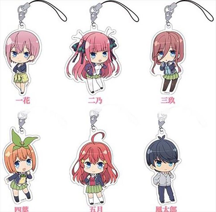 The Quintessential Quintuplets - Trading Acrylic Strap SINGLE BLIND BOX