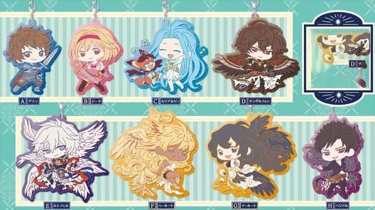 Granblue Fantasy - Clear Rubber Strap SINGLE BLIND BOX