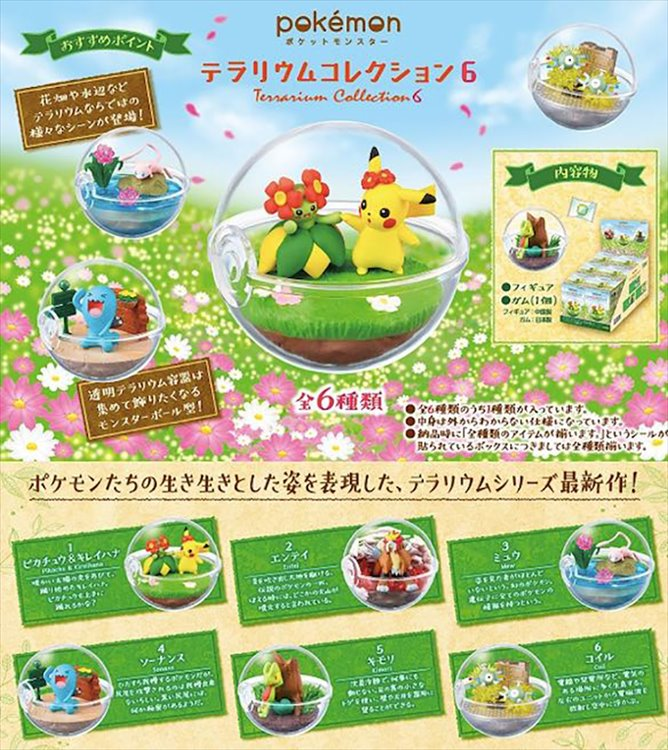 Pokemon - Terrarium Collection 6 SINGLE BLIND BOX