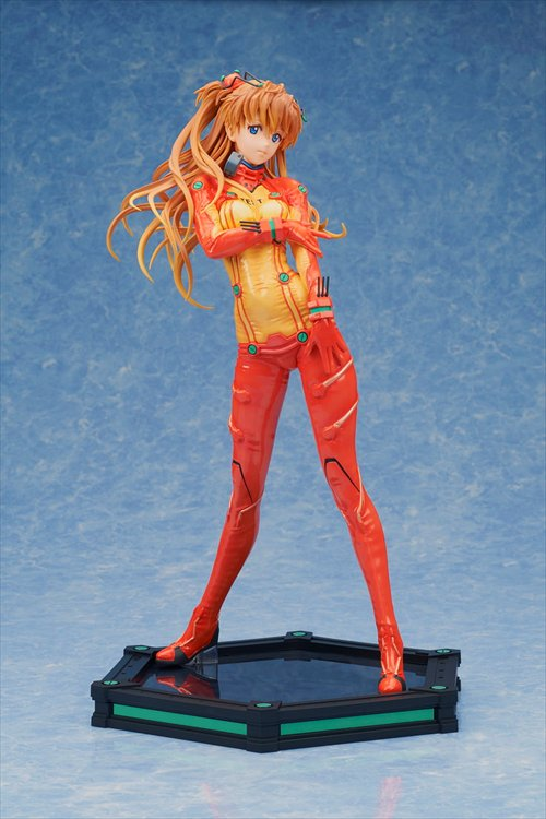 Evangelion 2.0 You Can Not Advance - 1/4 Asuka Shikinami Langley Test Plugsuit Ver. PVC Figure