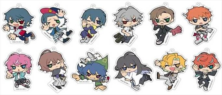 Hypnosis Mic - Acrylic Keychain SINGLE BLIND BOX