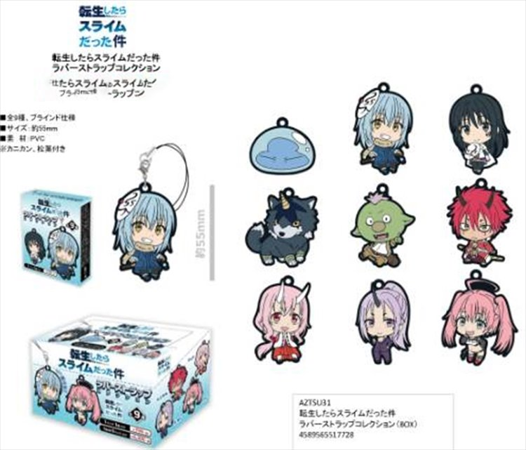 That Day I Was Reincarnated As A Slime - Rubber Strap SINGLE BLIND BOX