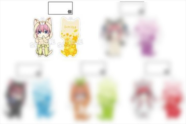 Quintessential Quintuplets - Ichika in Costume Acrylic Keychain