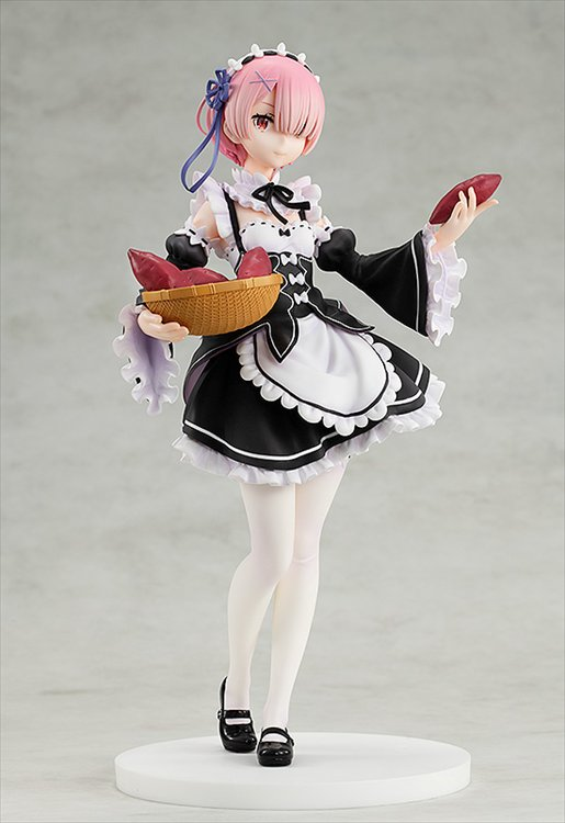 Re:zero Starting Life In Another World- - 1/7 Ram Tea Party Ver. PVC Figure