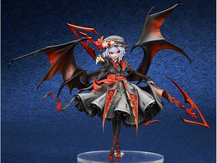 Touhou Project - 1/8 Remilia Scarlet Legend Of Komajo Ver. Extra Color PVC Figure