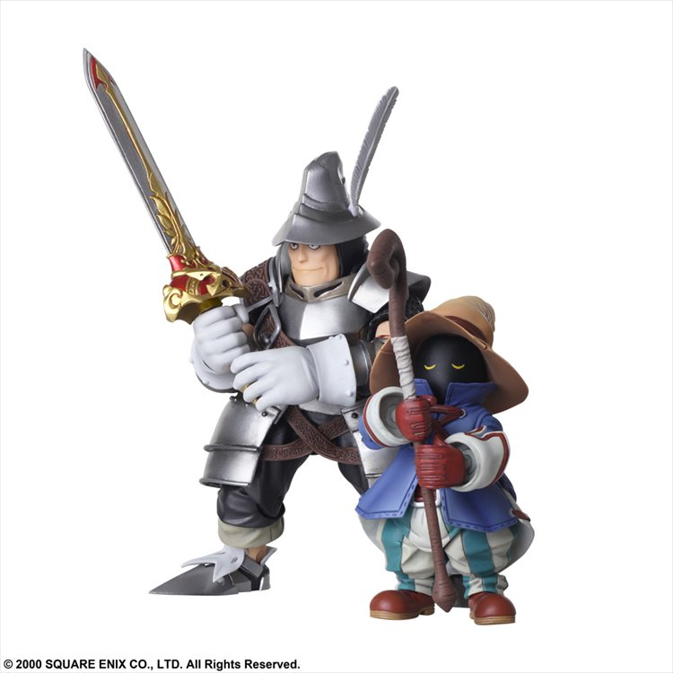 Final Fantasy IX - Vivi Ornitier and Adelbert Bring Arts