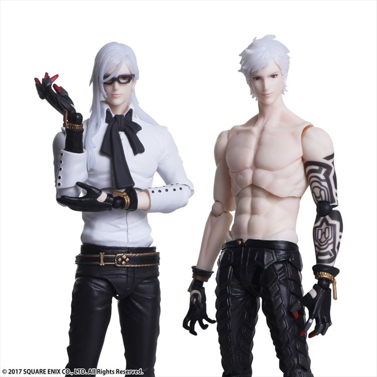 NieR:Automata - Adam and Eve Set BRING ARTS Figures