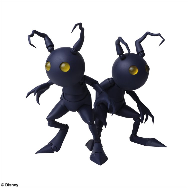 Kingdom Hearts III - Heartless Shadow Set Bring Arts Figure