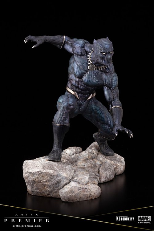 Marvel Comics - 1/10 Black Panther ARTFX Preimer Statue