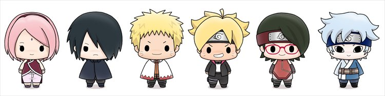 Boruto - Chokorin Mascot Series SINGLE BLIND BOX