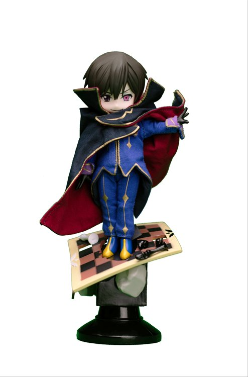 Code Geass: Lelouch of The Rebellion - Lelouch Deformed Vignette Polystone Doll