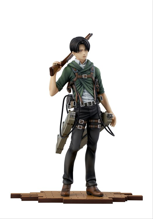 Attack on Titan - 1/8 Levi 2A Ver. Brave Act Scale Statue