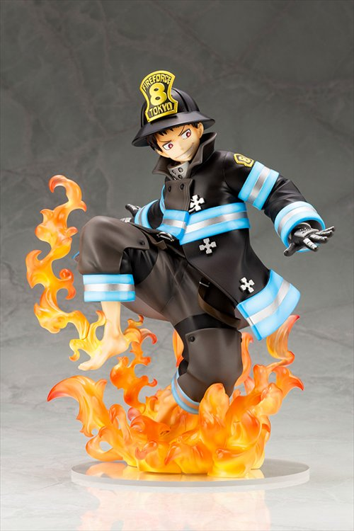 Fire Force - 1/8 Shinra Kusakabe ARTFX J Statue