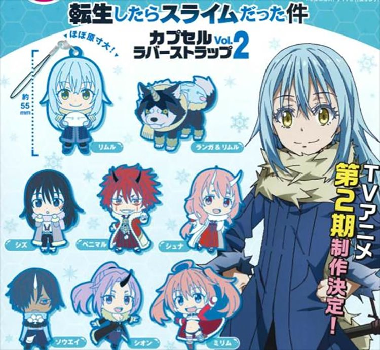 That Day I Got Reincarnated As A Slime - Rubber Strap Vol. 2 Set of 8