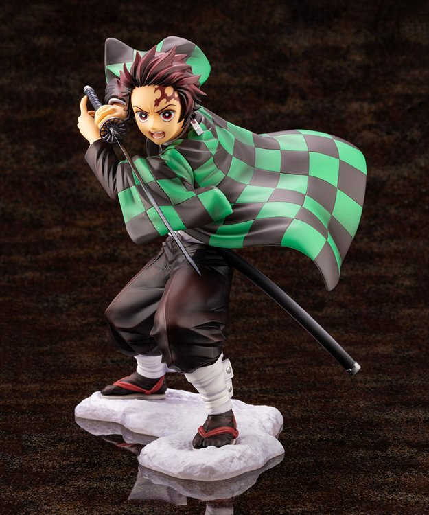Demon Slayer - 1/8 Tanjiro Kamado ARTFX J Statue
