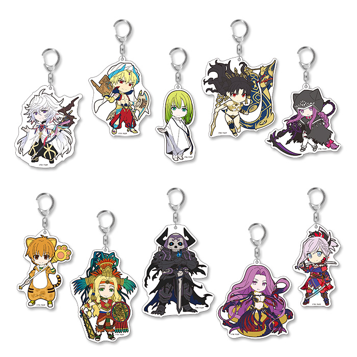 Fate/Grand Order - Pikuriru Acrylic Keychain Vol.5 SINGLE BLIND BOX