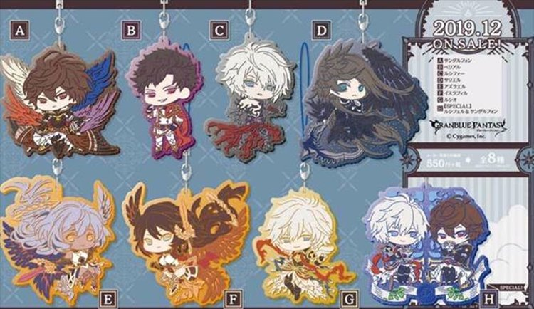 Granblue Fantasy - Clear Rubber Strap Vol. 2 SINGLE BLIND BOX