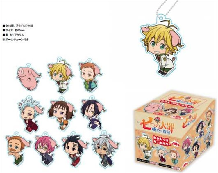 The Seven Deadly Sins - Acrylic Strap SINGLE BLIND BOX