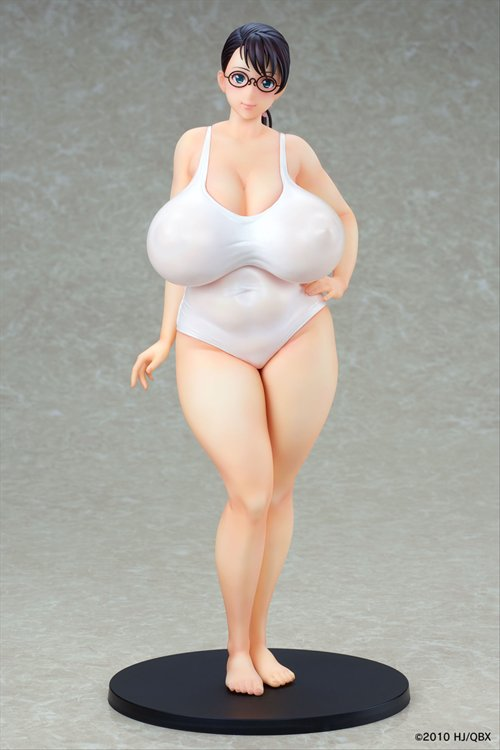 Queens Blade Beautiful Warriors - Cattleya White Swimsuit Ver. PVC Figure