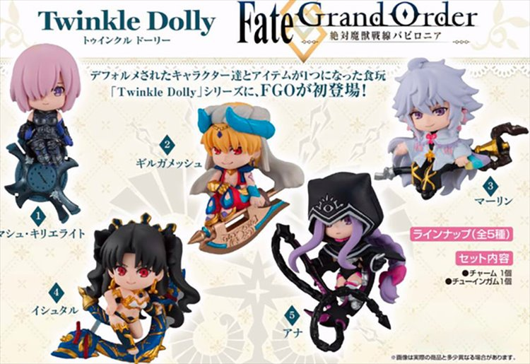 Fate/Grand Order - Twinkle Dolly Trading Figure SINGLE BLIND BOX