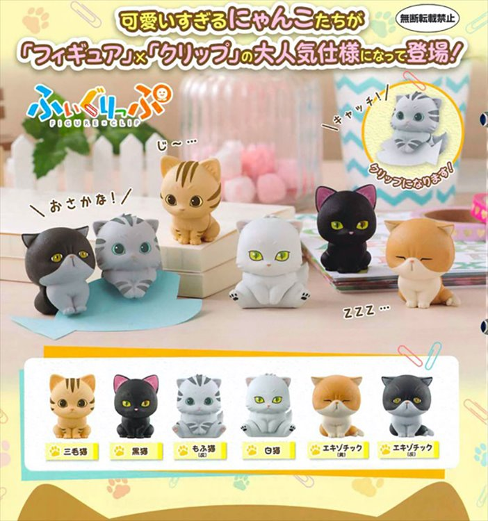 Nyanko - Figure Clip Set of 7