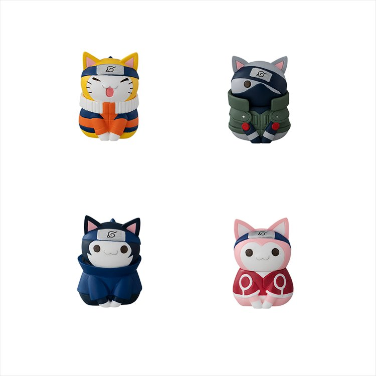 Naruto - Naruto-nyaruto Cats Of Konoha Village SINGLE BLIND BOX
