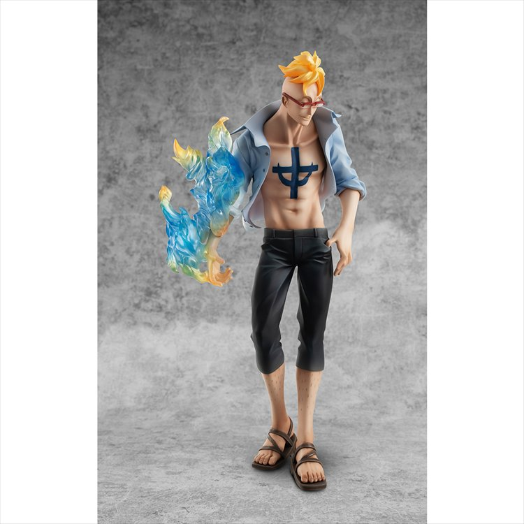 One Piece - 1/8 Ship Doctor Marco P.O.P Limited Edition PVC Figure