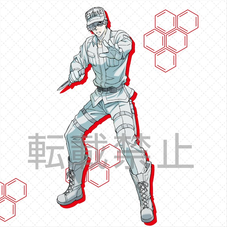 Cells At Work - White Blood Cell PM Sega Prize Figure